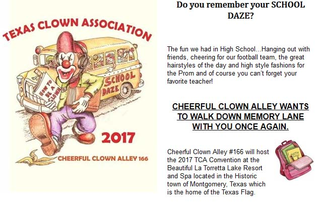 hire a clown houston txv